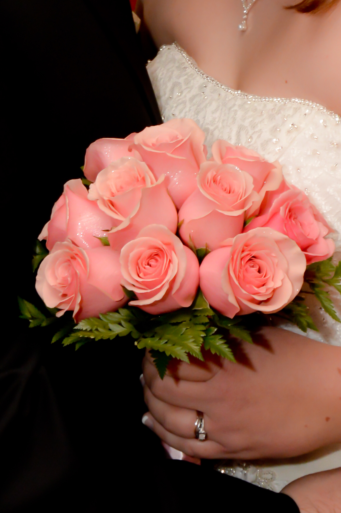 Twelve Rose Hand Tied Bouquets - Las Vegas Weddings