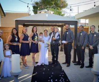 Pavillion Wedding Ceremony Mon Bel Ami Wedding Chapel8