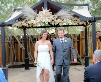 Outdoor Wedding in Gazebo