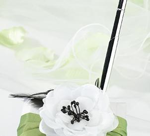 Green & Black Pen Set