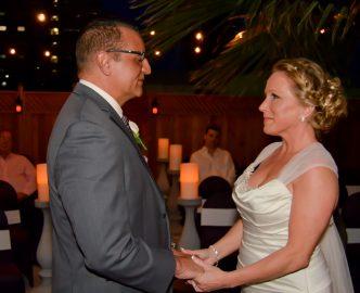 Vow of marriage Las Vegas.
