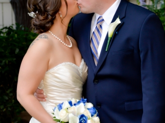 Posed wedding photography: looking their best on their wedding day.