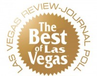 The Best of Las Vegas seal, Las Vegas Review Journal Poll.