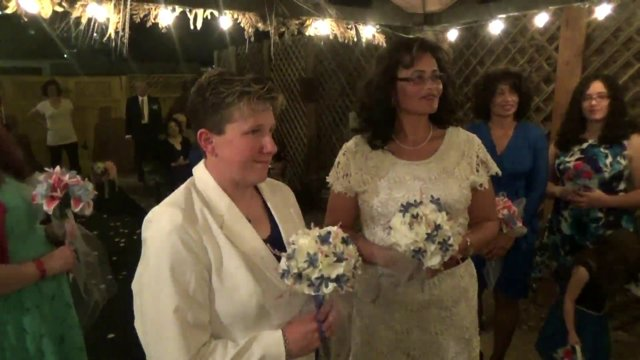 The Wedding of Mercedes and Stephanie 3-28-2015 @ 8pm