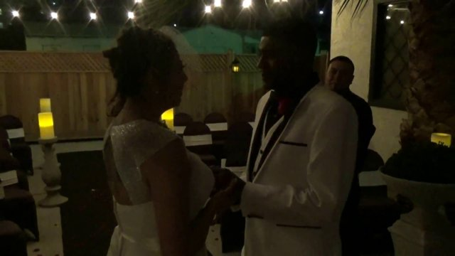 The Wedding of Jonathan and Crystal 3-28-2015 @ 10pm