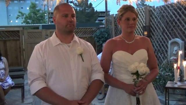The Wedding of Scott and Kristine June 30, 2015 @ 8pm