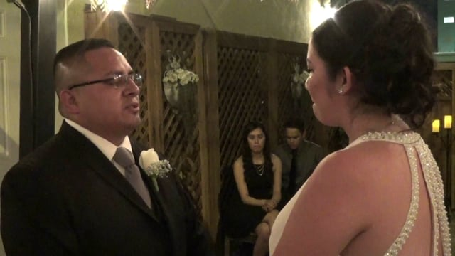 The Wedding of Norberto and Amber September 26, 2015 @ 9:30pm