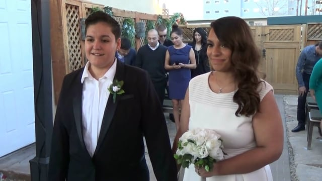 The Wedding of Marilu and Stephanie January 28, 2016 @ 5pm