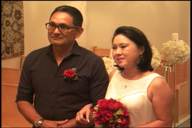 The Vow Renewal of Nevio and Sandra August 27, 2016 @ 4pm