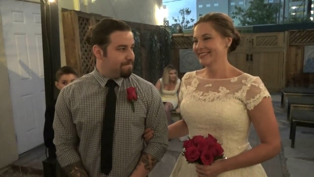 The Wedding of Nathan and Jen August 27, 2016 @ 7pm