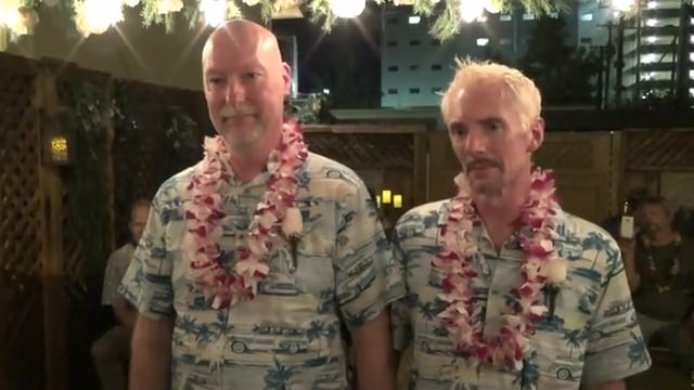 The Wedding of Steve and Dennis September 30, 2016 @ 7pm