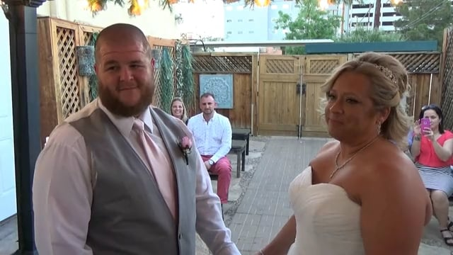 The Wedding of Justin and Brooke April 30, 2017 @ 7pm