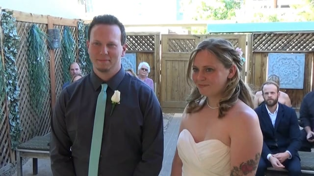 The Wedding of Dustin and Christy April 30, 2017 @ 5pm