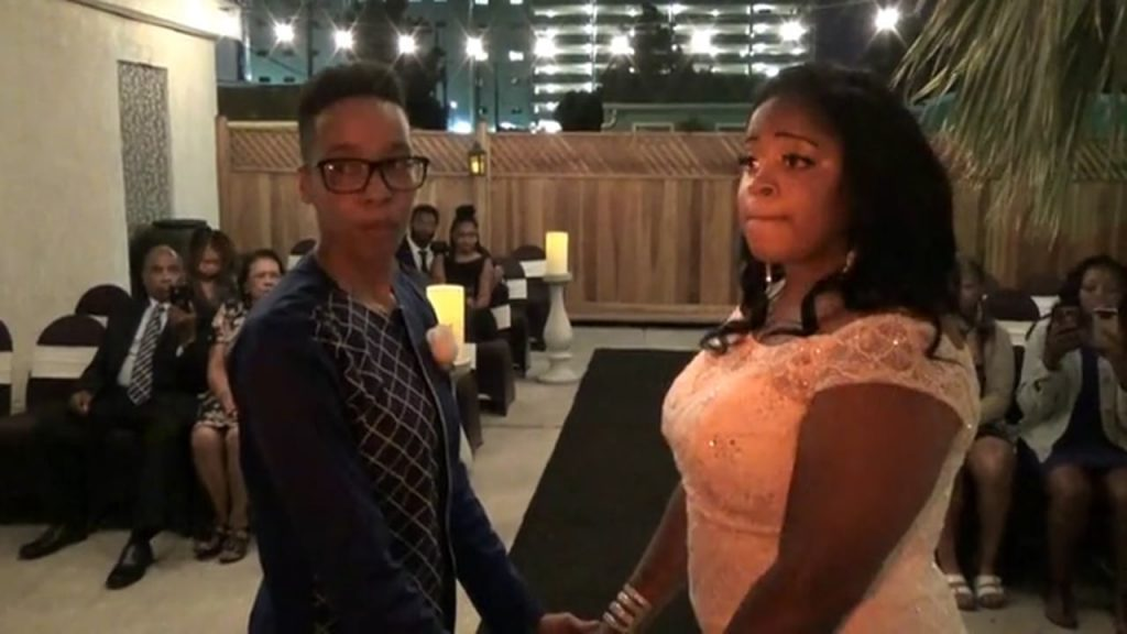 The Wedding of Quearra and Shavon September 23, 2017 @ 8pm
