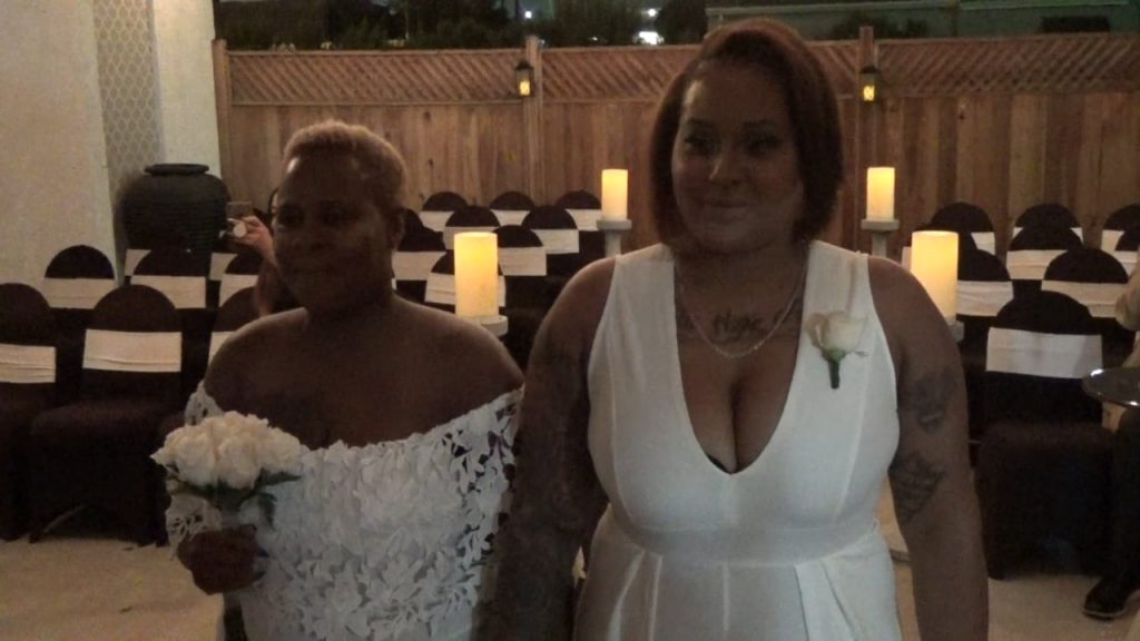 The Wedding of Jada and Tammi October 9, 2018 @ 8pm