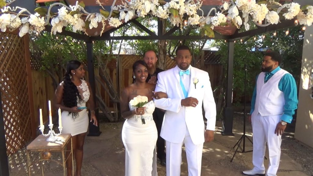 The Wedding of Ahmaud and Jeanette October 20, 2018 @ 10am