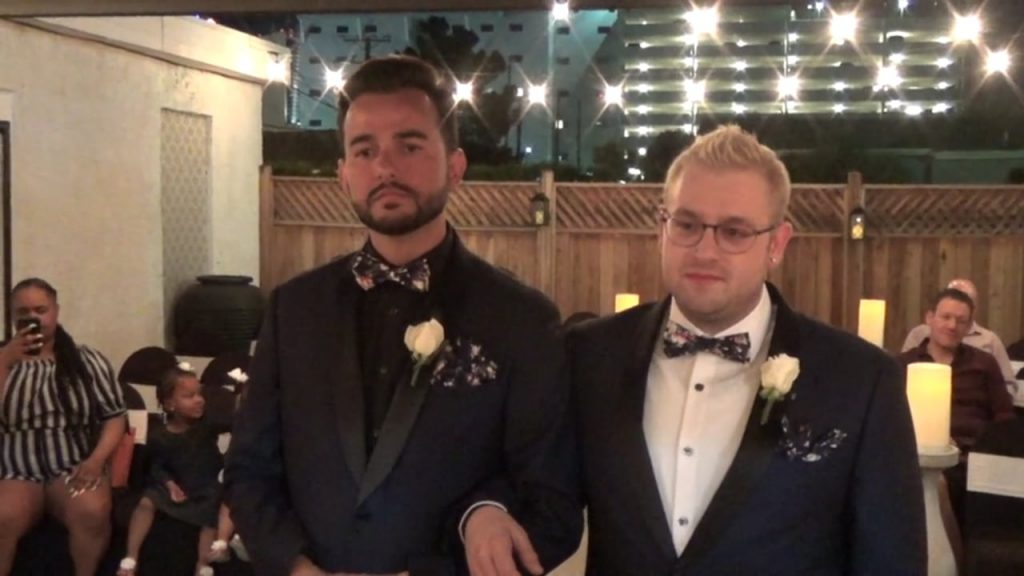 The Wedding of Rafael and Tyler June 12, 2019 @ 9pm