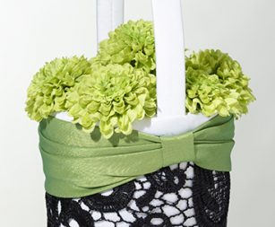 green-flower-basket