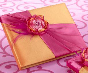 pink-orange-guest-book